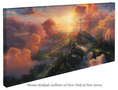 "Thomas Kinkade Wrap - The Cross  – 16"" x 31"" Wrapped Canvas"