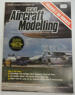 Scale Aircraft Modelling Magazine Camouflage And Markings September 1982 042515R