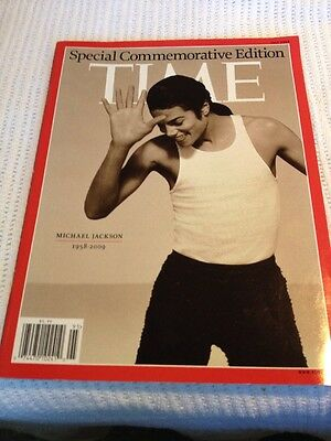 Michael Jackson Time Special Commemorative Edition July 2009
