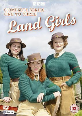 Land Girls - Series 1, 2 and 3- DVD - Box Set - New - Sealed