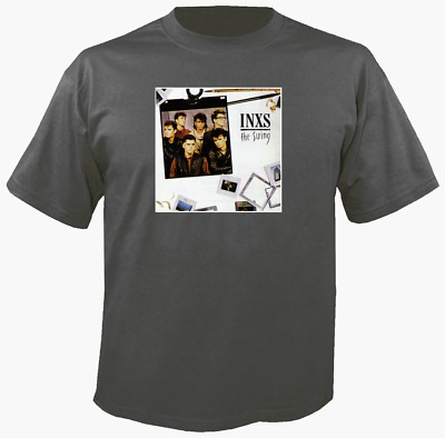 Tee Shirt New Unisex  INXS THE SWING album cover on quality t shirt Hutchence