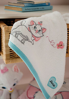Disney Marie (Cat) Bath Towel Set Includes Bath & Hand Towel & Flannel NEW 22405