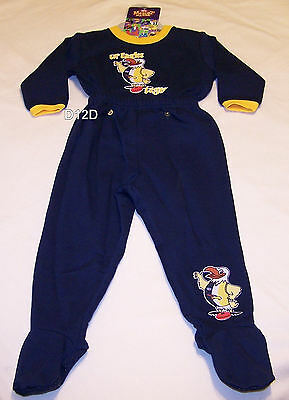 Wholesale Bulk Lot 10x West Coast Eagles AFL Boys Printed Fleece Pyjama Set New