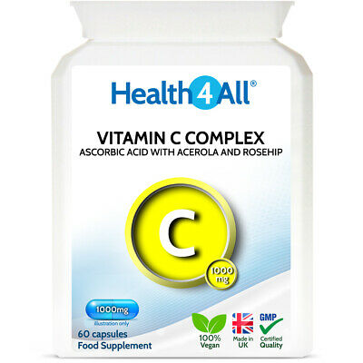Vitamin C Complex 1000mg Capsules   with Rosehip and Acerola   Varicose Veins