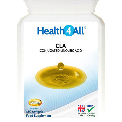CLA 500mg Softgels| Lean Muscle Gain and Weight Loss | Conjugated Linoleic Acid