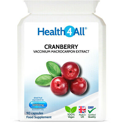 Cranberry SUPER STRENGTH 6000mg Capsules   High Absorbable CAPSULES not tablets