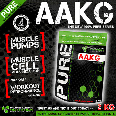 2Kg Arginine Alpha Ketoglutarate Pure Powder * Nitric Oxide * Preworkout