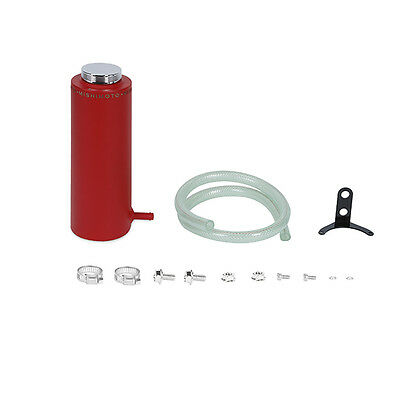 Mishimoto Aluminium Coolant Reservoir Tank - Wrinkled Red