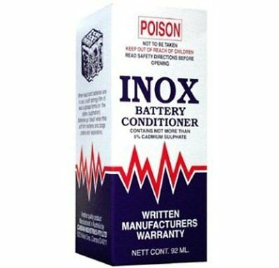 INOX MX2 Battery Conditioner Extends Car Boat Battery Life 92ml Bottle