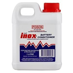 INOX MX2 Battery Conditioner Extends Car Boat Battery Life 1 Litre Bottle