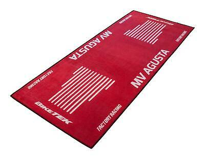 MV Agusta Turismo Veloce Biketek Series 3 Red White Workshop Garage Pit Mat