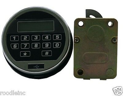 Electronic Keypad Lock For Gun Any Safe Vault, Build Your Own Safe or Lock Box