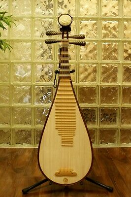 Pipa - Concert Aged Rosewood Chinese Lute Guitar Dunhuang Musical Instrument