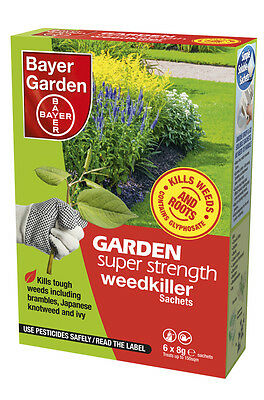 Bayer Garden Super Strength Weedkiller Concentrate 6 Sachets
