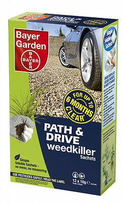 Bayer Path & Drive Weedkiller Concentrate 12 Sachets