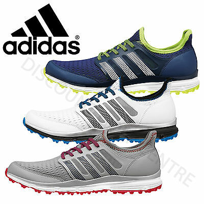 Adidas 2016 Mens Climacool Spikeless Lightweight Ventilated Summer Golf Shoes