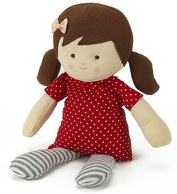 Intelex Warmheart Craft Rag Doll Jilly Fully Microwavable Heatable Bed Time Toy