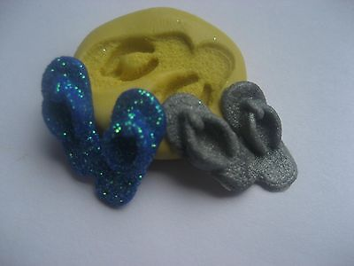 Tiny flip flop sandal 21mm Flexible silicone mold for chocolate fondant clay