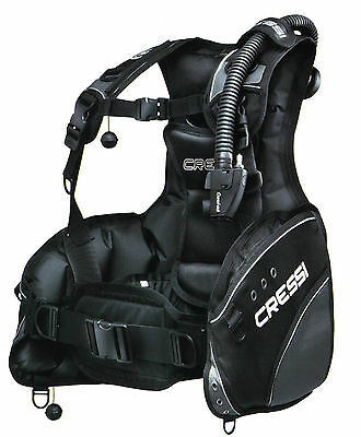 Cressi LINE BCD for Scuba Diving, Size XLG
