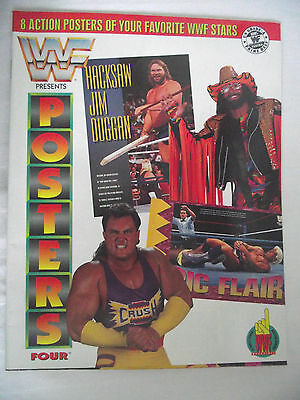 Wwe / Wwf Posters Magazine Vol 4 Hacksaw / Ric Flair / Randy Savage / Crush  L1