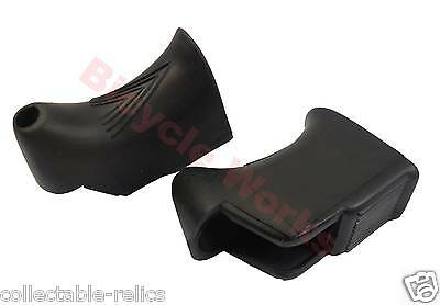Replacement Hoods for Non Aero Road Bike Brake Levers Vintage Bicycle 1544