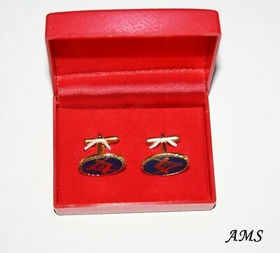 Craft Lodge Cufflinks in Presentation Box (Free Delivery within Australia)
