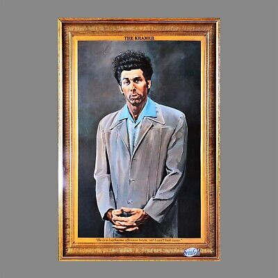 The Kramer Poster Self Portrait (61X91Cm) Seinfeld Picture Print New Art