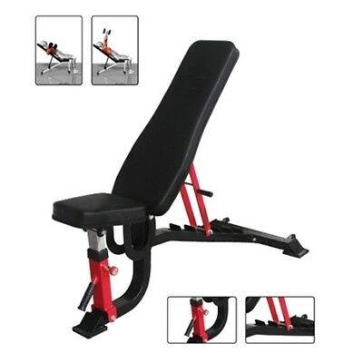 Commercial Grade Incline Decline Adjustable Super Bench Pt Gym Lift Strongman