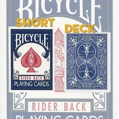 Short Bicycle Blue Deck Of Playing Cards By Uspcc Magic Tricks Gaff Gimmick