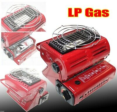 New Burner Heater Warmer Butane LP Gas Ceramic Camping Heating & Cooking Stove