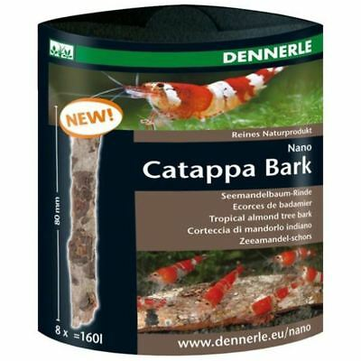 Dennerle AquaRico Catappa Bark - Shrimp Nano Aquarium