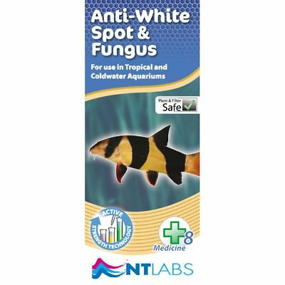 NT Labs Anti White Spot and Fungus 100ml Tropical Aquarium Treatment
