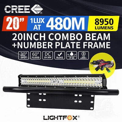 20inch 126W LED Light Bar Cree Flood Spot Combo Work Driving Offroad 4WD
