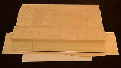 Giant 1/4 Scale SPITFIRE MK-5 Short Kit, Plans & instruction 100 in. wing span