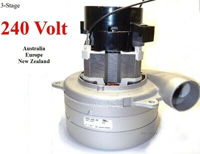 Carpet Cleaning 3-Stage Extractor Vacuum Motor 220 - 240 Volt