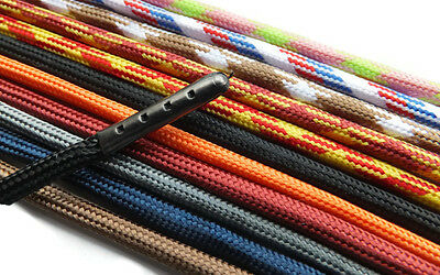 Extra LONG METAL TIPPED 4mm Hiking Boot Shoelaces A* Finest Quality Extra Strong