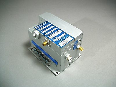 Frequency West 5855-6355Mhz Microwave Oscillator MS-54X0-43 - Used