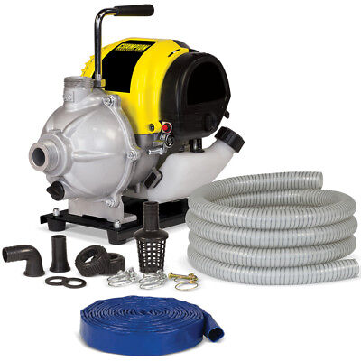 """Champion 100166 - 30 GPM (1"""")  Water Pump Package"""