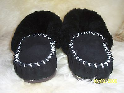 100% Australian Made Sheepskin Moccasins Adult Size 11