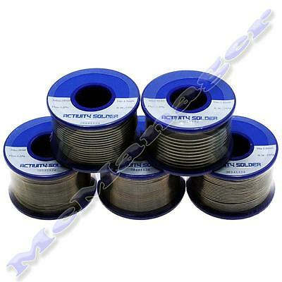 Solder Wire 35/65  0.5-2mm 1% Flux Reel/Tube Tin/Lead 100-500g