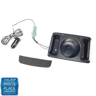 70-81 F Body Rear Console Cupholder And USB Conversion To Replace Ashtray Black