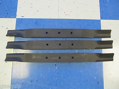 3-Replacement Blades For Bushhog Rdth84 50033779 Grooming/finishing Mowers 7'