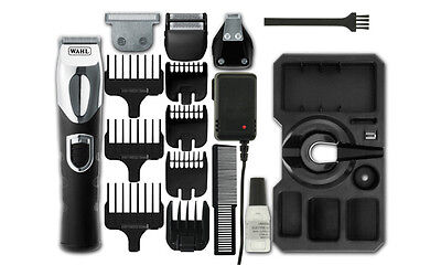 Wahl Mens Pro Deluxe Grooming Station Shaving Clipper Trimmer Kit - 9854-800