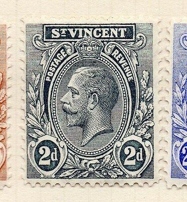 St Vincent 1921 Early Issue Fine Mint Hinged 2d. 140078