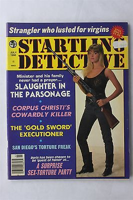 Startling Detective Vol 80 #4 July 1990 Vintage Crime Magazine Articles Murders