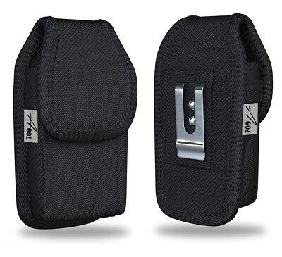 Vertical Belt Clip Loops Case Pouch Holster for Insulin Pump, Glucose Meter, CGM