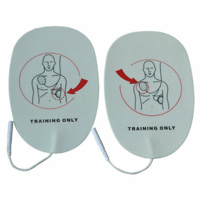 1 Pair XFT 120C / 120C+ AED Adult Training Pads For First Aid Training