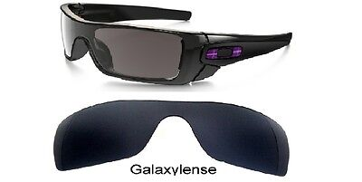 Galaxy Replacement Lenses For Oakley Batwolf Black Polarized 100% UVAB