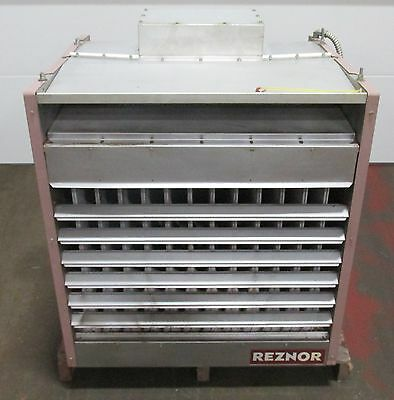 Reznor Unit Heater Model B400-E 1 Phase Natural Gas 1.5 Hp 9.5 Amps D3~ 70924ISU