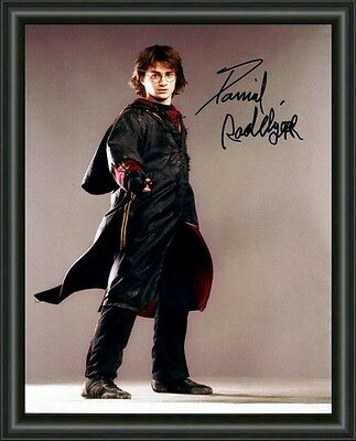 Daniel Radcliffe Harry Potter - A4 SIGNED AUTOGRAPHED PHOTO POSTER -  FREE POST